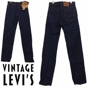 NWT Vintage Levi's 505 Red Tag Men's Jeans 30x34